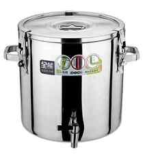 Multi - Purpose 30L  heat-preserving Pail - Stainless Steel