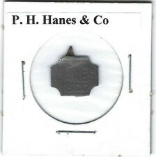 P.H. Hanes & Co. Chewing Tobacco Tag H171 Embossed