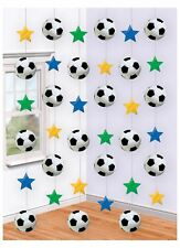 Football String Decoration Birthday Party Boy Girl Hanging Decorations 6 Strings