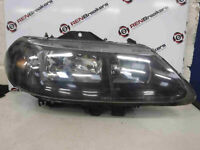Renault Laguna 1999-2000 Drivers OSF Front Headlight Black Backing 149420-00