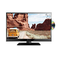 """EMtronics 16"""" Inch Full HD 1080p 12 Volt TV with DVD Player and Satellite Tuner"""