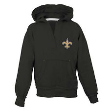 d15006efb New Orleans Saints Hoodie Girls Size Small (7-8) Black Reebok NWT