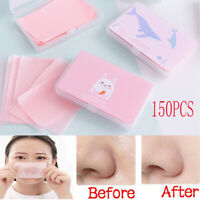 150 Sheets/Box Cute Oil Control Oil-Absorbing Blotting Face Clean Paper Dp