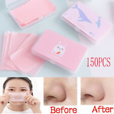 150 Sheets/Box Oil Control Oil-Absorbing Blotting Face Cleaning Paper ca