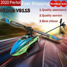 WLtoys V911S 4CH Remote Control Helicopter RC Airplane 6-axle Gyro Plane Kid Toy