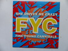 45 Tours FINE YOUNG CANNIBALS She drive me crazy , pull the sucker off 886361