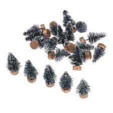20 pezzi di decorazioni natalizie in miniatura per l'albero di Natale