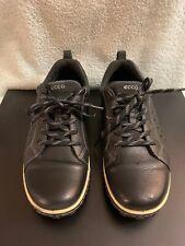 Ecco sneakers Receptor Technology Walking Trail Gray Black Men Sz 43-9/9.5