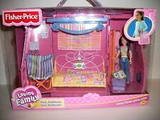 NEW! Fisher Price Loving Family New Additions Teen Bedroom 2004