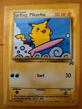 Surfing Pikachu #28 Black Star Promo (Never Played)