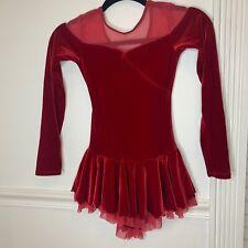 Ice Skating Dress Girl 12/14