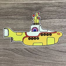 "The Beatles Yellow Submarine 5"" Wide Vinyl Sticker - BOGO"