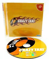 Sega Dreamcast - Crazy Taxi - NTSC-J Japanese Video Game Rare