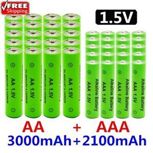 1.5V AA + AAA Ni-Mh Rechargeable Battery AAA Alkaline 2100-3000mah Ni-Mh Battery