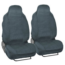 Scottsdale High End Front Car Seat Covers - High-Back Bucket Seats No Headrest