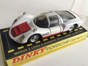 dinky toys ref503 porsche carrera 6 neuf en boite voir photos