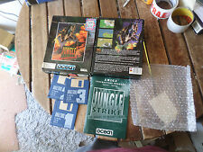 Jungle Strike by Ocean 1 meg ver Amiga boxed Game good/fair Condition booted