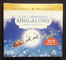 Tis the Season Kids Christmas Holiday Sing-Along Collection 3 CD collection