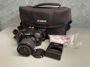 Canon EOS Rebel T6 18.0MP Digital SLR Camera w/ 18-55 mm Lens