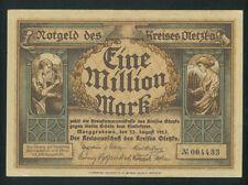 OLECKO 1 Million Mark (1923) Kreis Oletzko Marggrabowa Poland Germany banknote