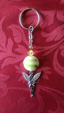 ** Reduced To Clear, Mixed Keyrings, Hearts, Angels, lampwork, Silver