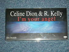 """CELINE DION R.KELLY Japan 1998 MINT Tall 3"""" inch NM CD Single I'M YOUR ANGEL"""
