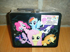 2013 MY LITTLE PONY METAL LUNCH BOX CARDS LOT SERIES 1 & 2 FOIL TATOO POSTER 25+