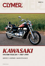 Clymer Repair Service Shop Manual Vintage Kawasaki VN1500 Vulcan 1987-1999
