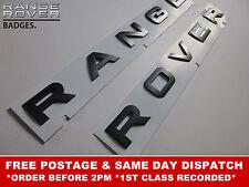Range Rover Buchstaben Original Grau Schriftzug Abzeichen Vorne Hinten Sport