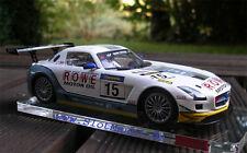Scaleauto MERCEDES sls gt3 Nurburgring 2011 Nº 15 M 1:24 NEUF