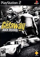 Getaway: Black Monday for Playstation 2 PS2 Fast Shipping