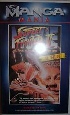 VHS - MANGA MANIA/ STREET FIGHTER II - IL FILM