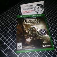 (REPLACEMENT CASE ONLY) FALLOUT 3 GAME OF YEAR EDITION XBOX ONE & 360 (NO GAME)