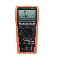 AideTek VC99+ 5999 auto range multimeter tester Amp C T R vol D vs FLUKE AU ship