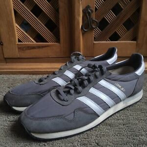 Vintage VNDS Adidas Voyager Men's Running Shoes Trainer Sz US13 Gray Taiwan 80's