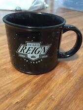Ontario Reign AHL 10 Year Anniversary Coffee Mug la kings