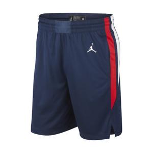 Nike Jordan Men's France Basketball Shorts  - Navy - New