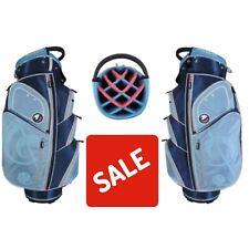 Orlimar Ensemble Ladies Golf Cart Bag 14 Way Divider Blue New