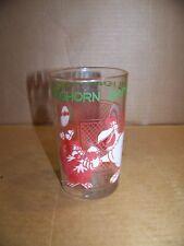 1974 Foghorn Leghorn Glass Warner Bros.