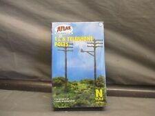 Atlas N Scale 12 Telephone Poles (Sealed) #2801