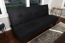Sofa Couch Futon Bed Sleeper Convertible Microfiber Living Room Furniture Modern