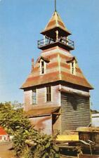 Auburn, CA Old Town Fire House Placer County c1950s Vintage Postcard
