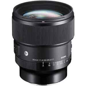 Sigma 85mm f/1.4 DG DN Art Lens for Sony-E Mount