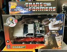 HASBRO Transformers Back To The Future 35th Gigawatt Action Figure - NEW