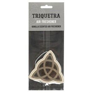 Gothic Triquetra Vanilla Scented Air Freshener
