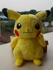 "NEW Original Tomy Pokemon supersoft Pikachu Stuffed Animal 10"" Plush Doll Toy"