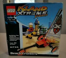 Lego Island xtreme stunts 6734 Beach Cruisers sail boat NEW