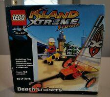 Lego Island xtreme stunts 6734 Beach Cruisers sail boat NEW