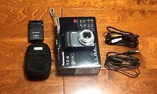 Panasonic LUMIX DMC-TZ4 Digital Camera Point & Shoot 8.1MP 2.5