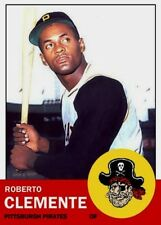 ROBERTO CLEMENTE ACEO 63 ART ##FREE COMBINED SHIPPING##